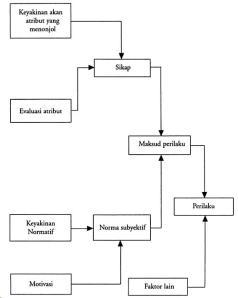 Hubungan antara Komponen dalam Model Perilaku dan Sikap Fishbein